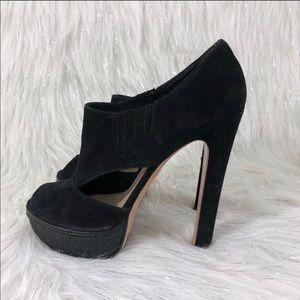 Prada Shoes - Prada stacked bootie heel with cutouts 41